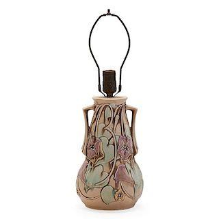 ROSEVILLE Ivory Morning Glory lamp base