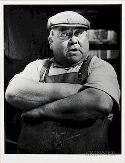 Gyula Halász, called Brassaï (Hungarian/French, 1899-1984)  Market Porter, Les Halles