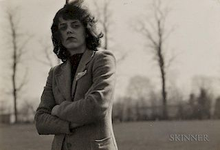 Diane Arbus (American, 1923-1971)  Portrait of Hope Greer Eisenman