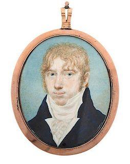 Portrait Miniature by Raphaelle Peale