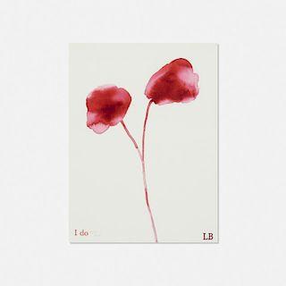 Louise Bourgeois, I Do