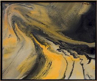 ATTRIBUTED TO EVELYN METZGER (1911-2004): SHIFTING SANDS