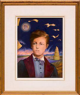JEAN-MICHEL LENGRAND (b. 1955): PORTRAIT OF ARTHUR RIMBAUD