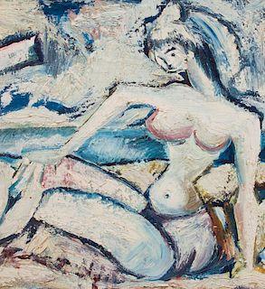 DIAMANTINO RIERA (1912-1961): NU A LA PLAGE