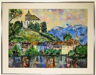 Terry Renola Impressionist Landscape Painting