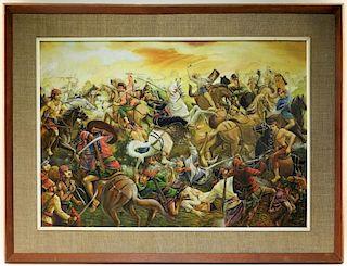 N. Saropas Thai WC Fantasy Battle Painting