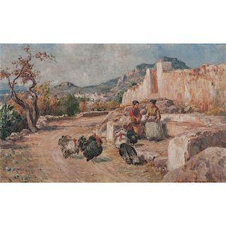 Francesco Mancini Ardizzone (Italian, 1863-1948)