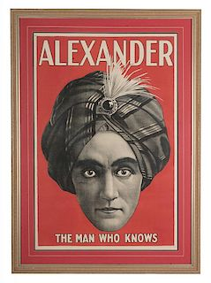 Alexander. The Man Who Knows.