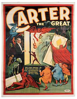 Carter the Great. Do the Dead Materialize? The Absorbing Question of All Time.