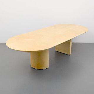 Large Karl Springer KNIFE EDGE Dining Table