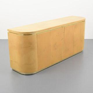 Parchment Cabinet, Manner of Karl Springer