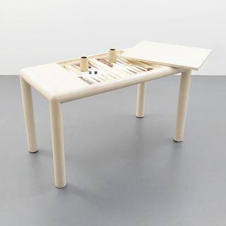 Karl Springer Game/Backgammon Table