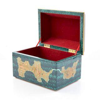 Lidded Box, Manner of Karl Springer