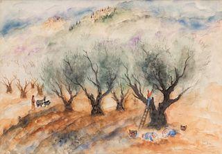 REUVEN RUBIN (ISRAELI 1893-1974)