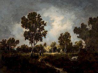 NARCISSE VIRGILE DIAZ DE LA PENA (FRENCH 1808-1876)