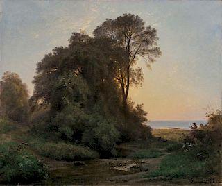 FRANCOIS LOUIS FRANCAIS (FRENCH 1814-1897)