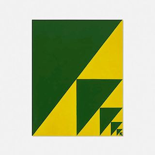 Mark Dagley, Endless Sequence (Green & Yellow)