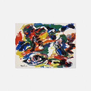 Karel Appel, Têtes Comme un Paysage