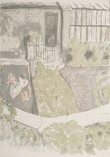Edouard Vuillard, (French, 1868-1940), Le jardin devant latelier, 1901