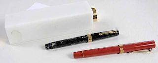 Three Omas Fountain Pens