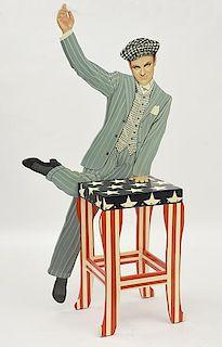 Decorative figural chair