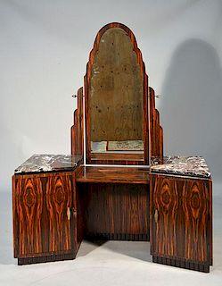 French Art Deco Macassar