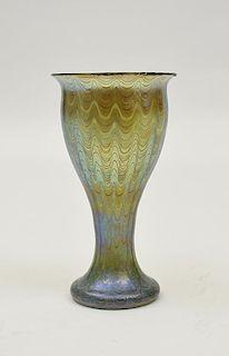 Fine art glass Loetz vase