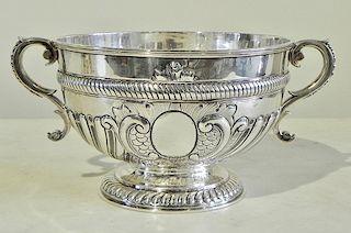 English Sterling Handled Bowl