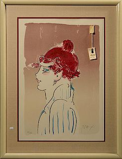 Peter Max Signed Litho
