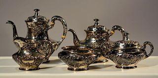 """Gorham """"Buttercup"""" Coffee & Tea Service"""