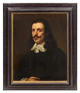 * Attributed to Giovanni Bernardo Carboni, (Italian, 1614-1683), Portrait of a Gentleman