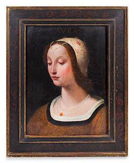 * Attributed to Francesco Salviati, (Italian, 1510-1563), Laura