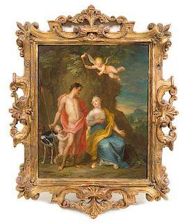* Balthasar Beschey, (Netherlands, 1708-1776), Venus and Adonis