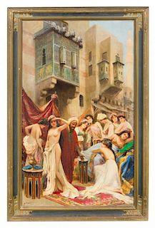 * Fabio Fabbi, (Italian, 1861-1946), The Slave Auction