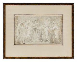 After Polidoro da Caravaggio, (19th Century), Figural Studies