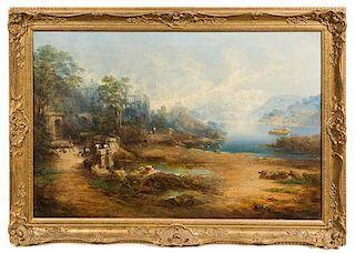 Artist Unknown, (19th Century), Figures in a Landscape