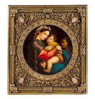 After Raphael, (19th Century), Madonna della Sedia