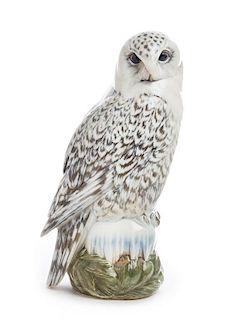 * A Royal Copenhagen Porcelain Ornithological Figure Height 15 1/2 inches.