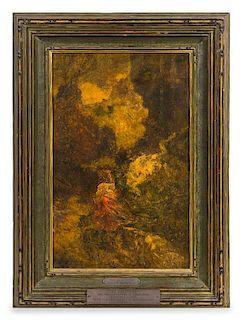 * Adolphe-Joseph-Thomas Monticelli, (French, 1824-1886), The Abduction, Circa 1880-1885