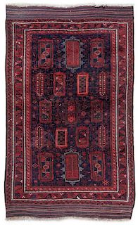 A Northwest Persian Wool Rug 9 feet 3 inches x 5 feet 11 inches.