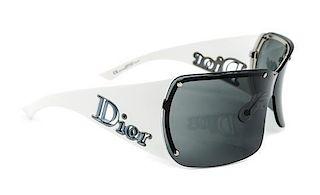 A Pair of Christian Dior Rimless Sunglasses,