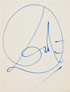 DALI, Salvador. Dali: A Study if his Art-in-Jewels: The Collection of the Owen Cheatham Foundation. Greenwich, 1970. SIGNED B