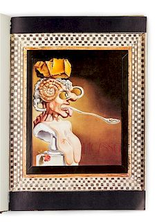 DALI, Salvador (1904-1989). Les Diners de Gala. New York: Felicie, Inc., 1973.