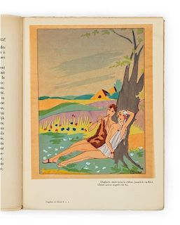 [JOUMARD, G.P., illustrator. LONGUS. Daphnis et Chloe. Paris: Editions Nilsson, [ca 1930].
