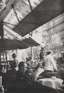 KERT-SZ, Andre (1894-1985). Day of Paris. New York: J.J. Augustin, 1945.  PRESENTATION COPY SIGNED BY KERT-SZ.