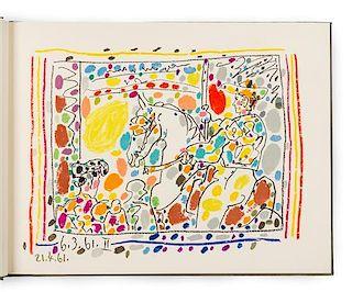 * PICASSO, Pablo (1881-1973). -- SABART-S, Jaime. A Los Toros avec Picasso. Paris and Monte Carlo: Andr- Sauret, 19