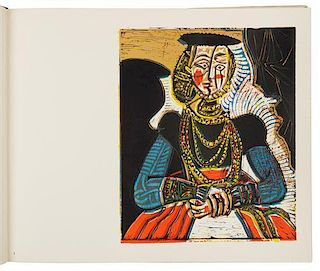 * PICASSO, PABLO (1881-1973). Pablo Picasso Linoleum Cuts: Bacchanals, Women, Bulls & Bull Fighters. Harry N. Abrams: New Yor