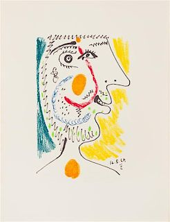 [PICASSO, Pablo (1881-1973)]. MARCENAC, Jean. Picasso: Le Gout du Bonheur. New York, [1970].
