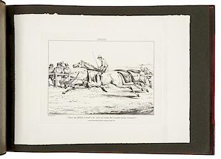 ALKEN, Henry (1785-1851). [Ideas, Accidental and Incidental to Hunting.  London: Thomas M'Lean, 1826-1830, but later.]