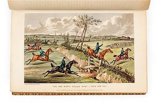 [APPERLEY, Charles James (1778-1843)]. NIMROD. The Life of a Sportsman. London: Rudolph Ackermann, 1842.